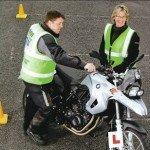 BMW motorbike training school